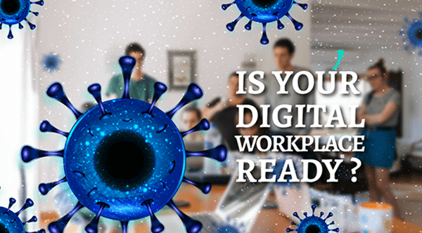 A modern digital workplace can help your business maintain operational continuity during a disruption like the global COVID-19 coronavirus pandemic.