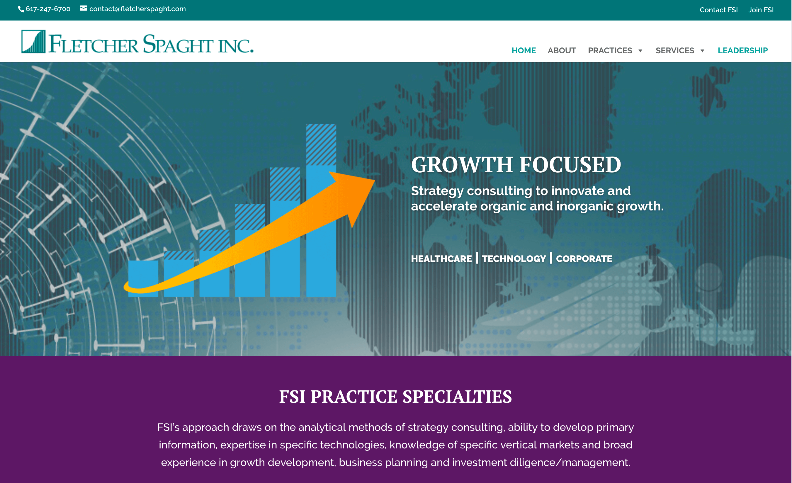 A new website is the centerpiece of Fletcher Spaght's new branding and digital strategy.