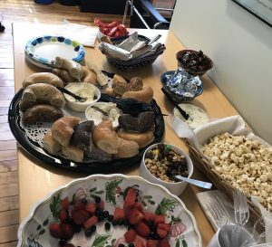 food for a brand workshop