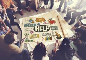 nonprofit staff strategizing