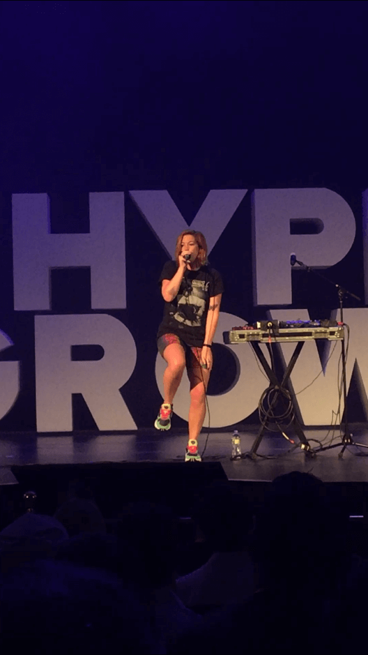 Grace Savage at HyperGrowth